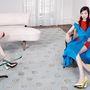 """A Dior  az idei szezonban jelentősem növelte a """"digitális bannerei"""" számát, melyeket Willy Vanderperre készített."""