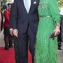 A holland királyné, Maxima éppen emiatt a smaragdzöld ruha miatt került a listára.
