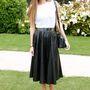 Ahogy szakmájának egyik legjobban öltözött nője Bianca Brandolini d'Adda is.