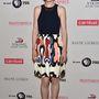 A londoni színésznő, Michelle Dockery kedvenc ruhadarabja a farmer, mégis az élmezőnyben végzett idén.
