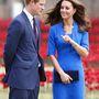 És nagy meglepetésünkre a mindig csinos Katalin hercegné és a