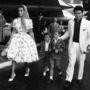 1958: Elizabeth Taylor még a családi utazásokhoz is kicsípte magát.