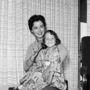 Shirley Temple közel 20 évvel később lányával, Lori Blackkel.