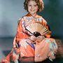 Shirley Temple, híres gyerekszínész is pózolt kimonóban.