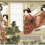 Japán szépségek 1776-ból.
