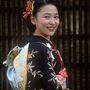 Esküvőjére készült ez a japán lány. Év: 1969