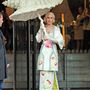 Persze Lady Gaga már tavaly is kimonóban parádézott Londonban.