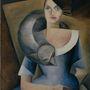 Bebutova Yelena Mikhailovna portréja a 20-as évekből.