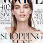 Axente Vanessa másodszorra is a német Vogue borítóján.