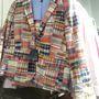 Gant: a patchwork zakó kihagyható, de 94.990 helyett csak 47.490 forint.