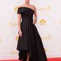 Lena Headey, a Trónok harca színésznője Rubin Singer ruhát visel.