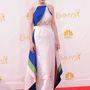 Michelle Dockery, a Downton Abbey színésznője Rosie Assoulin ruhában.