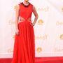Claire Danes az Emmy-re ment a vörös csodában