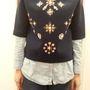 H&M: Ha különlegesebb pulcsira vágyik, ez a díszített neoprén darab 8990 forintért önért kiált!