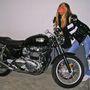Chiara Ferragni motorral is pózolt 2009-ben.