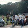 Az út Woodstockba. A fesztivál a New York állam beli Bethelben zajlott 1969. augusztus 15. és 18. között.