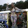 1994: Woodstock 25 éves évfordulója alkalmából rengetegen hippinek öltöztek.