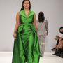 A zöld estélyi ruhától nem voltunk elájulva.