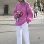 A pulóvereket idén nemcsak nadrággal, hanem szoknyával is bátran kombinálhatjuk.