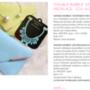 Azért vannak ékszerek is a Style and Blognál: ezt a pasztellkék virágos nyakláncot 4995 forintért adják + 800 forint szállítási költség.