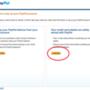 Miután megkezdte a regisztrációt a paypal.com-on, ezt a felületet kell látnia.