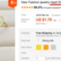 3 db szívecskés gyűrű kerül 1,79 dollárba, így ha valamelyik megkopik, használhatja a következőt.