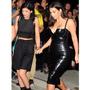 Így mutat feketében. Kardashian egy Los Angelesi zenei fesztiválra csípte így ki magát 2014 augusztusában.