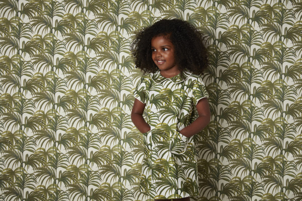 A gyerekosztályt is elérte a múlt század divatját követő hullám.