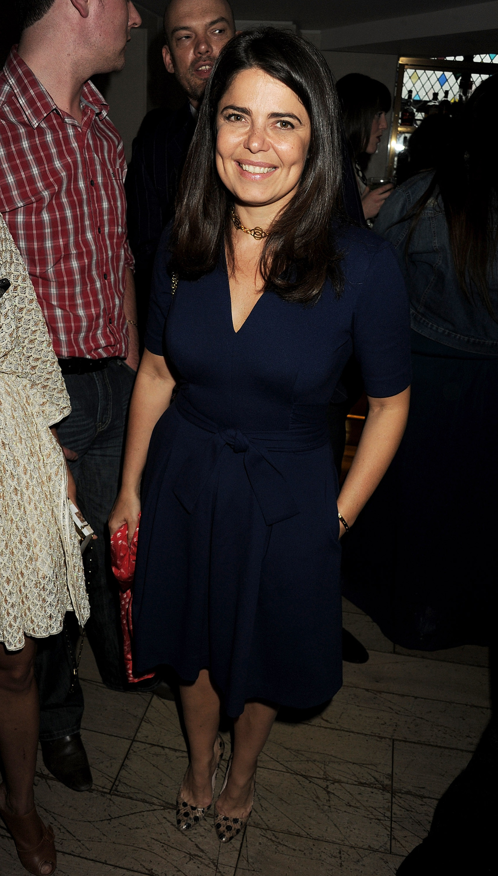 Jodie Kidd is szereti az Issa ruháit.